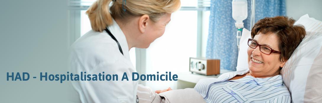 Service d'Hospitalisation A Domicile (HAD)