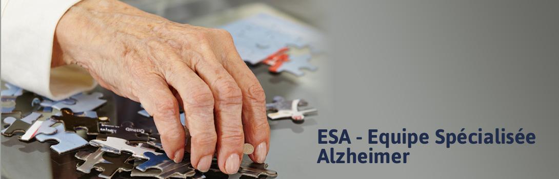 Equipe sp�cialis�e Alzheimer(ESA)